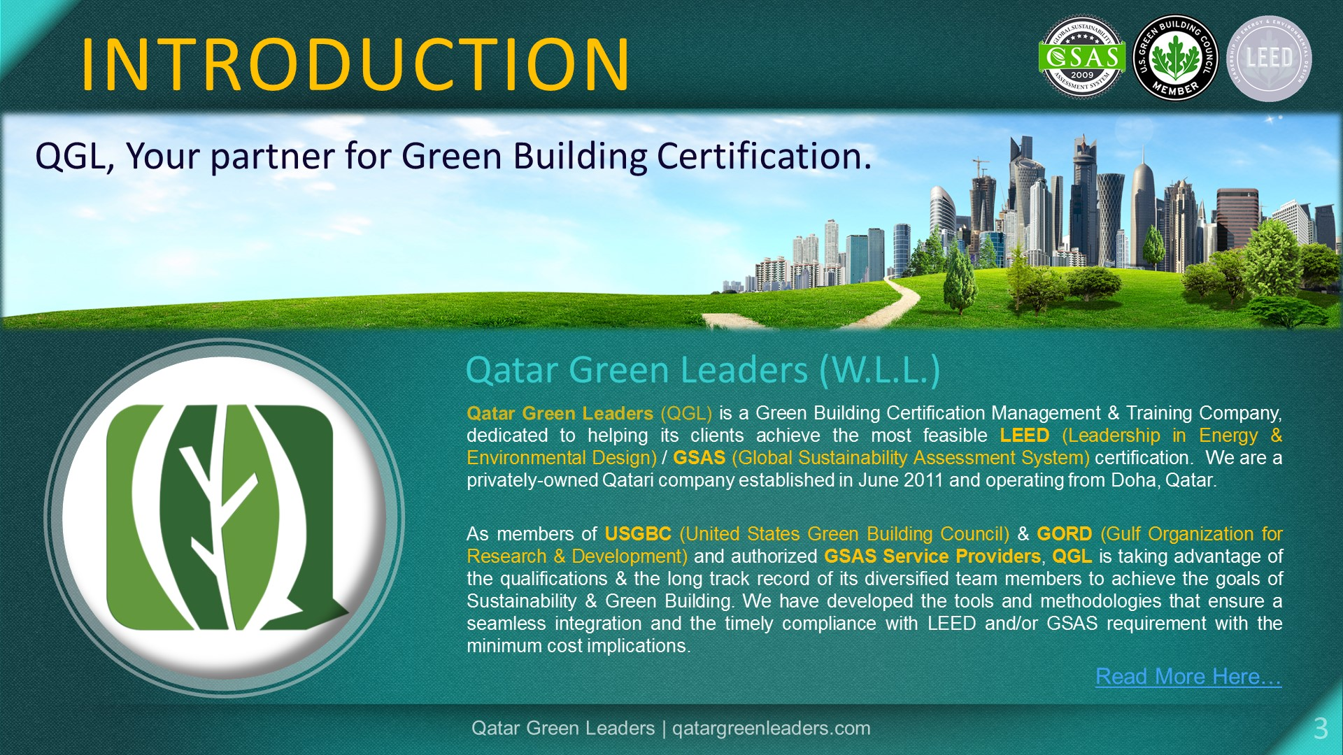 Services Qatar Green Leaders